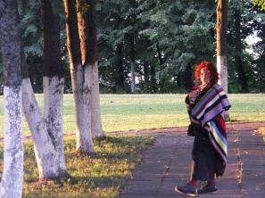 Being at BIkuškis Estate. 2007.